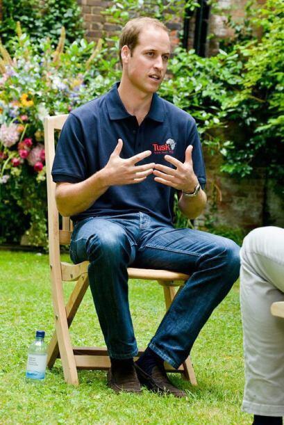 En una entrevista para CNN, el príncipe William explicó qu...