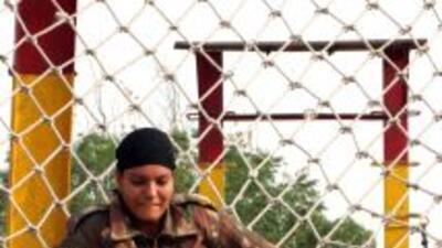 Seis sargentos de la base aérea de Lackland, en San Antonio, Texas, fuer...