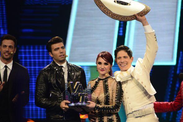 Al final, triunfó Jencarlos y Fernando festejó a su lado.