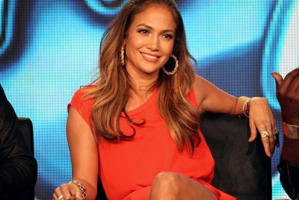 Y por supuesto que tampoco podía faltar la bella Jennifer Lopez.
