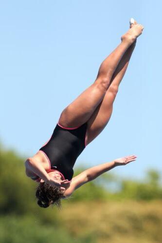La joven saltadora mexicana se quedó a un paso de poder instalarse en el...