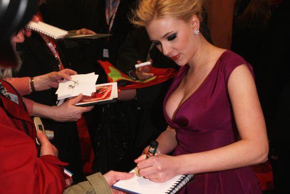 Scarlett Johansson Mira aquí lo último en chismes.