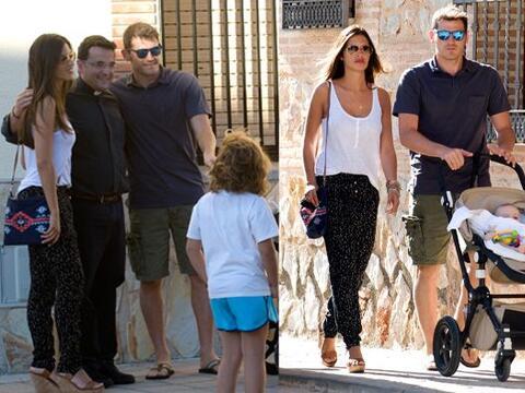 Iker Casillas, Sara Carbonero y su hijo Martín, estuvieron unos días en...