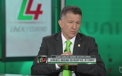 Osorio: 'Héctor Herrera está a la altura de grandes jugadores'