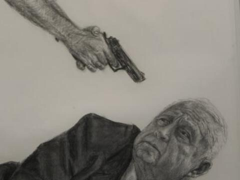 Las fantasías de un artista brasileño sobre la posibilidad de asesinar a...