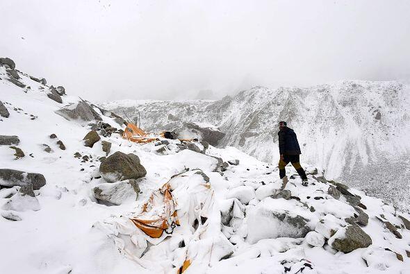 """Muchos montañeros son """"presa del pánico"""" ante las noticias que les llega..."""