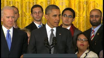 Obama: Este es el momento de una reforma migratoria