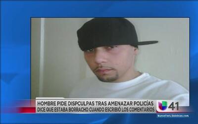 Amenazaba con matar policías a través de su Facebook