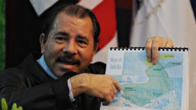 El presidente de Nicaragua, Daniel Ortega, ha amenazado con retirar a su...