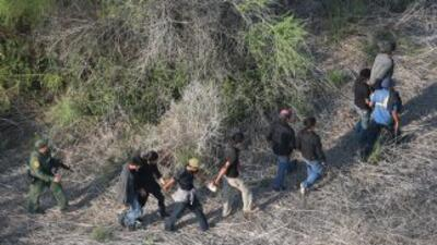 13 indocumentados detenidos