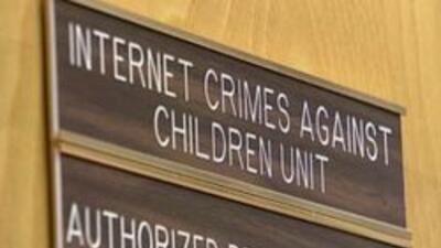 Autoridades dedicadas a proteger contra los depredadores en la internet.