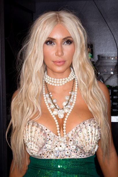 Kim Kardashian es otra famosa que a lo largo de los años se ha co...