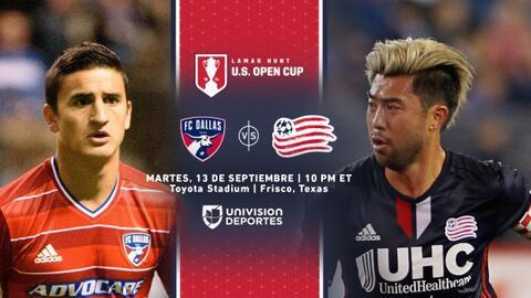 US Open Cup: FC Dallas vs New England Revolution