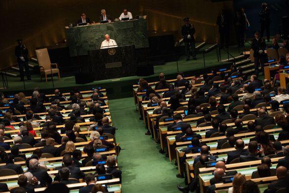 El discurso ante Naciones Unidas del Papa fue escuchado con atención.