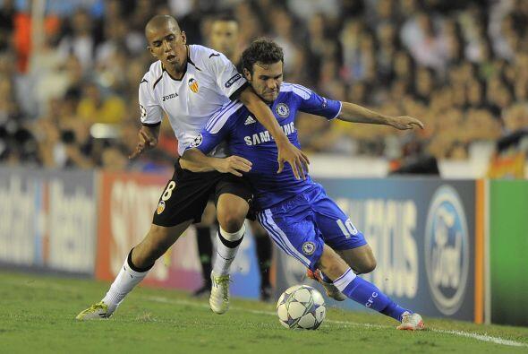 En Mestalla, el Valencia enfrentó al Chelsea que llegaba con la v...