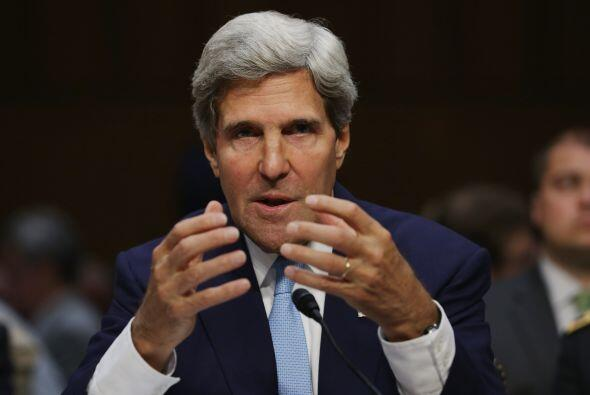 El Secretario de Estados Unidos, John Kerry encabeza la lista de Líderes...