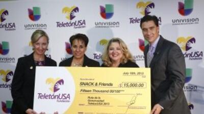 Se entregó el segundo donativo de la Fundación Teletón USA en Nueva York.