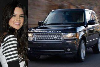 Kendall Jenner, media hermana de Kim Kardashian, recibió una Range Rover...
