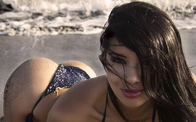 La bella modelo colombiana se le vio en hace unas semanas a lado de Cris...