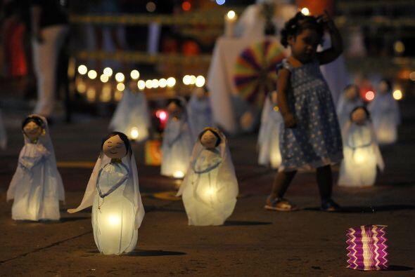 Esta tradición está dedicada a la Inmaculada Concepción y atrae a miles...