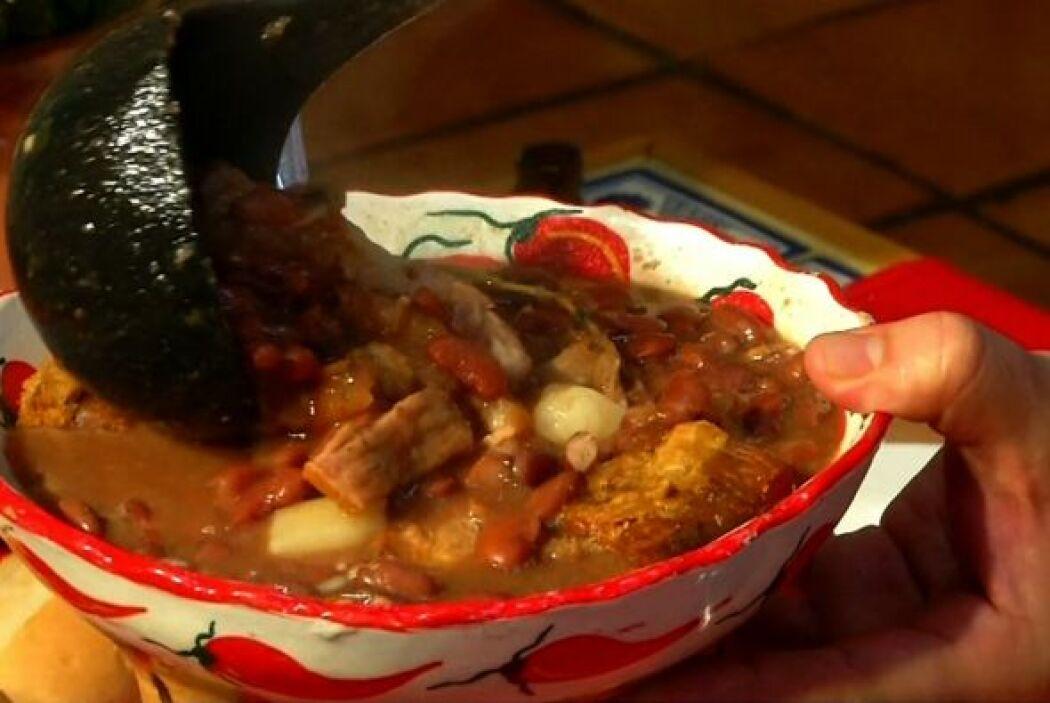Frijoles colorados:Este es el acompañante infaltable en todo plato cuban...