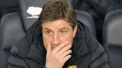El asistente del Barcelona no piensa que el Madrid haya sido muy superio...