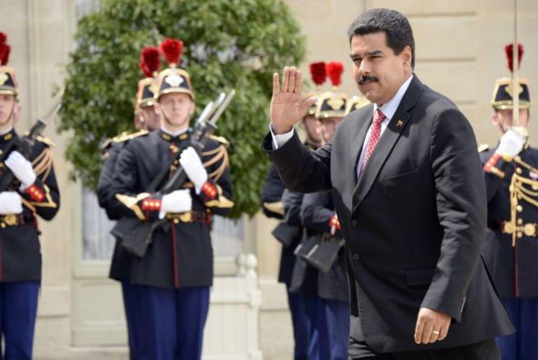 El 16 de junio Maduro recibió en Roma, junto con los presidentes de Hond...