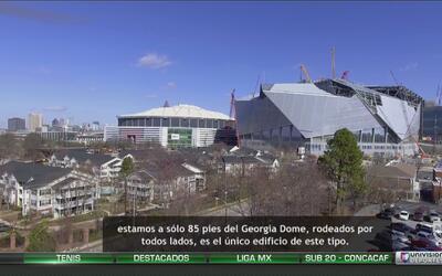 Expediente: Este es el Mercedes-Benz Stadium, la majestuosa casa del Atl...
