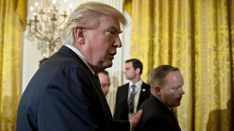 """""""Operación militar"""", la expresión de Donald Trump que confunde pese a la..."""