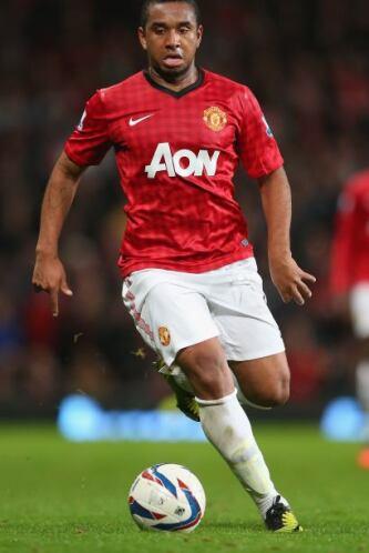 Seguimos con el brasileño Anderson, jugador del Manchester United.
