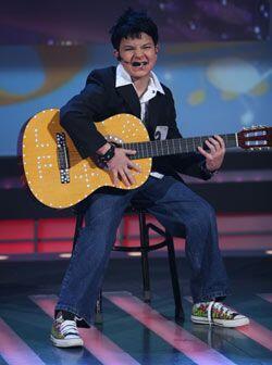 Alejandro Sanz mostró sus mejores canciones.