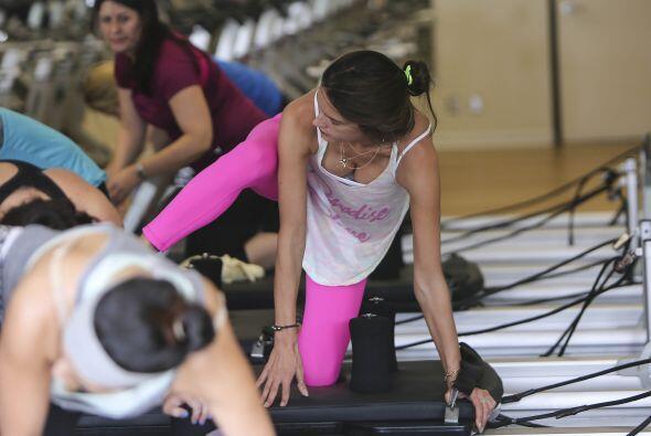 Los pilates han hecho maravillas no sólo en el cuerpo de esta bra...