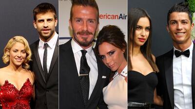 Romances de futbolistas con famosas
