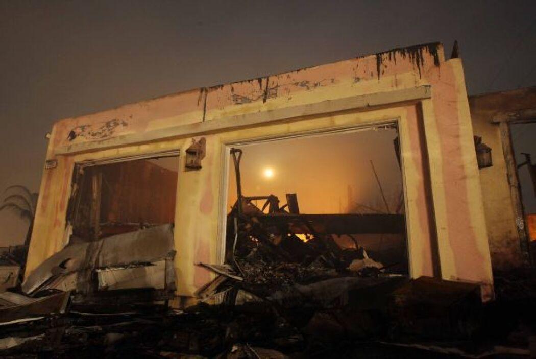 Los fuegos declarados han afectado especialmente a las localidades de Ca...