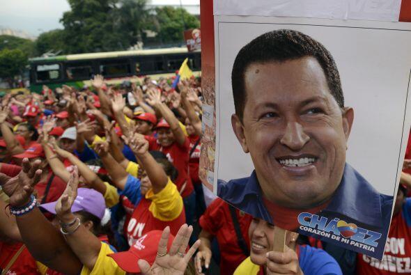 4 de febrero 2013 Chávez lamentó en una carta no estar pre...