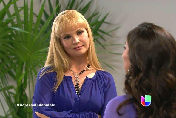Raiza insiste en que María Alejandra miente.