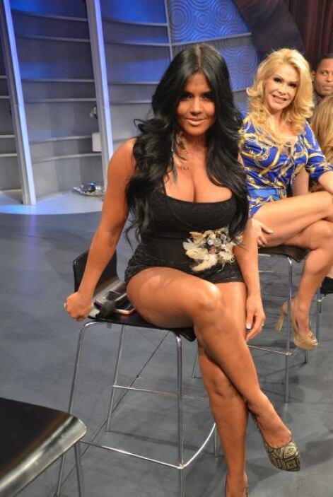 ¡Miren qué bien lucieron Maripily y Patty Álvarez.