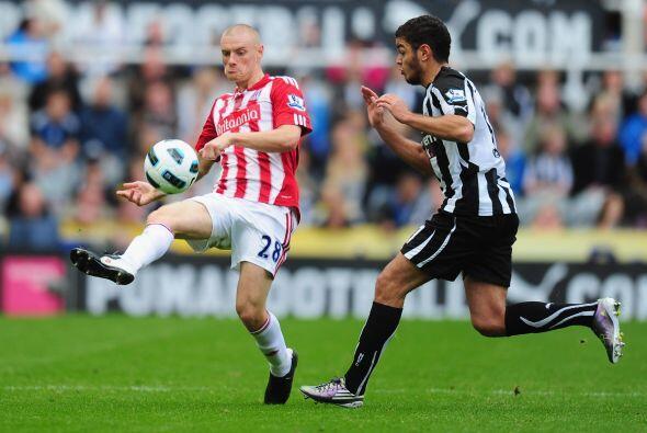 Newcastle y Stoke City protagonizaron el último duelo de la jornada domi...