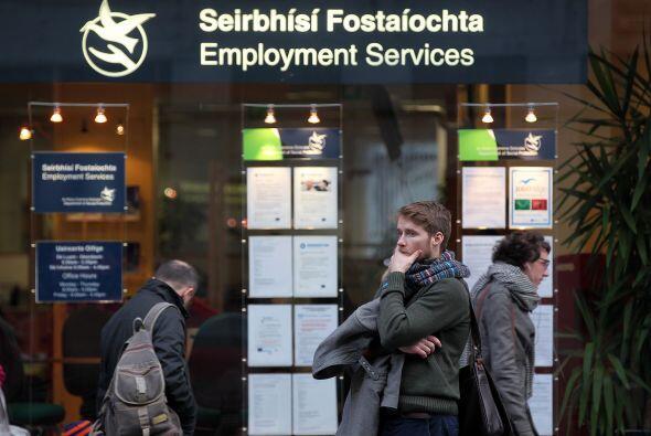 El 88% de los irlandeses creen que su país atraviesa un difícil momento...