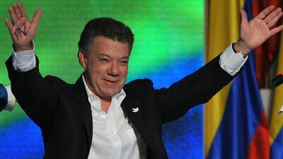 Juan Manuel Santos será presidente por cuatro años más