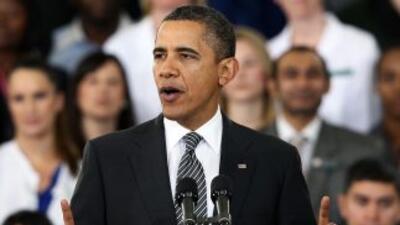 Obama busca controlar el déficit fiscal en el que se encuentra la econom...