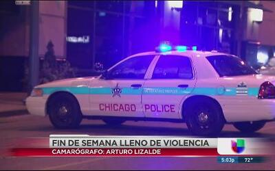 Fin de semana violento en Chicago