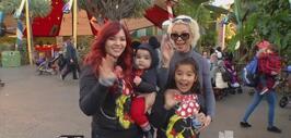 Marisela se llevó a sus nietos a Disneyland y ahí estuvimos siguiendo ca...