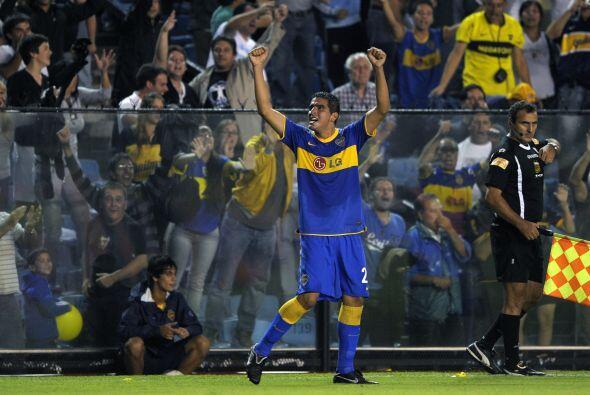 Boca Juniors ganó a Estudiantes 2-1 en su estadio La Bombonera en el que...