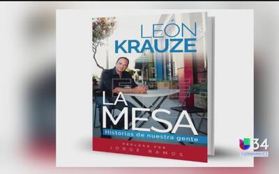 """León Krauze cuenta las mejores historias de inmigrantes en su libro """"La..."""