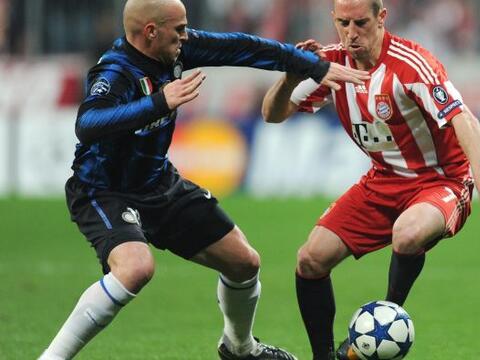 Inter de Milàn se metiò a la casa del Bayern Munich con la...