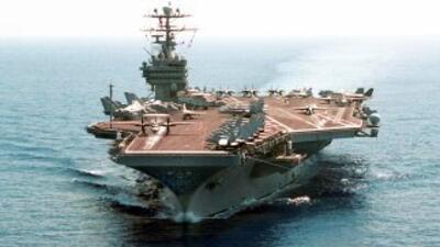 Estados Unidos movilizó hacia Corea del Sur el portaaviones USS George W...