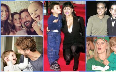 Comó han crecido los hijos de los famosos