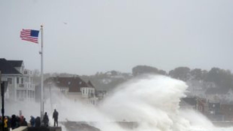 Sandy storm