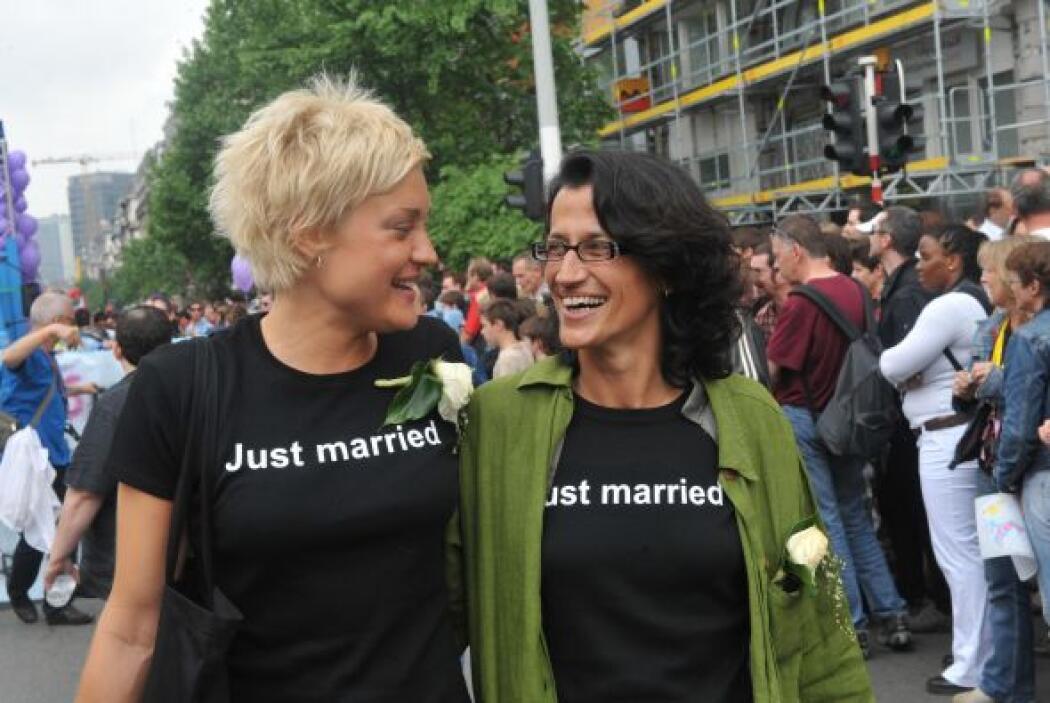 En Bélgica el matrimonio entre personas del mismo sexo entró en vigor el...